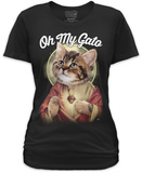 Juniors: Oh My Gato Shirts