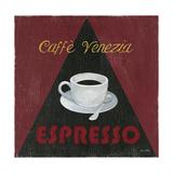 Caffee Venezia Espresso Print by Arnie Fisk