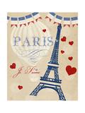 Violet's Paris 4 Posters by Violet Leclaire