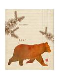 Forest Bear Posters av  Z Studio