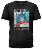 Transformers- Change It Up Camiseta