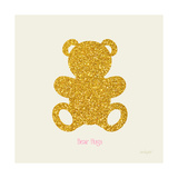 Teddy Bear Print by Lola Bryant