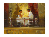 Diner at the Hotel Artiste Posters by John Haskins