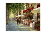 Café Apres-Midi Premium Giclee Print by John Haskins