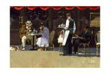 Café Rosso Poster by John Haskins