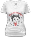 Juniors: Betty Boop- Heartbreaker Shirts