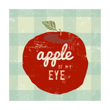 Gingham Apple Posters by Lola Bryant