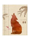 Forest Wolf Affischer av  Z Studio