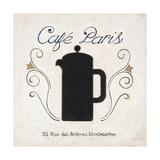 Café Paris Coffee Poster by Arnie Fisk