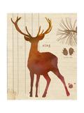 Forest Stag Affischer av  Z Studio