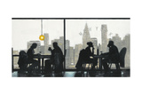NY Café Conversation Prints by Norman Wyatt Jr.