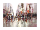 City Rain 1 Prints by Brent Heighton