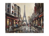 Paris Rain Prints by Brent Heighton