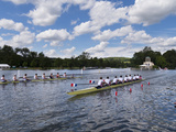 Henley Royal Regatta Papier Photo par Charles Bowman