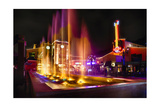 Station Square Night Scenic, Pittsburgh Photographic Print by George Oze