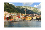 Varenna On Lake Como, Lombardy, Italy Photographic Print by George Oze