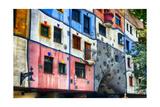 Hundertwasser House, Vienna, Austria Photographic Print by George Oze
