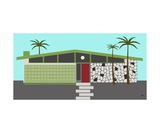 Mid Century Modern House 4 Photographic Print by Donna Mibus