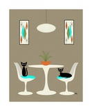 Knoll Table 2 Photographic Print by Donna Mibus