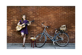 Nola Singer 2 Photographic Print by John Gusky
