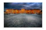 Schonbrunn Palace At Night, Vienna, Austria Photographic Print by George Oze