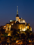 Mont St Michel Photographic Print by Charles Bowman