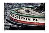 Bow Of A Tugboat, Philadelphia, PA Photographic Print by George Oze