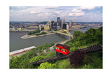 The Duquesne Incline, Pittsburgh, Pennsylvania Photographic Print by George Oze