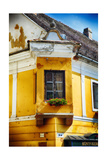 Corner Window With Flowers, Szentendre, Hungary Photographic Print by George Oze