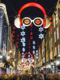 Carnaby Street Christmas Photographic Print by Charles Bowman