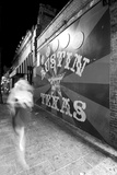6Th Street Mural Mono Photographic Print by John Gusky