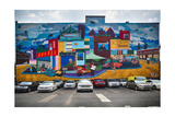 Strip District Wall Mural, Pittsburgh, PA Photographic Print by George Oze