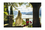 Ghost Of Castle Vezio, Lake Como, Italy Photographic Print by George Oze