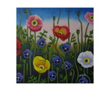 Dancing Poppies Photographic Print by Gayle Faucette Wisbon