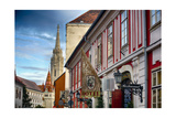 Castle Hill Street Scene I Budapest, Hungary Photographic Print by George Oze