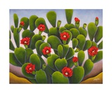 Cactus Roses Photographic Print by Gayle Faucette Wisbon