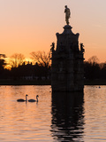 Diana Fountain Bushey Park Photographic Print by Charles Bowman