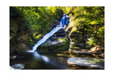 Dingmans Fall in Summer, Pennsylvania Photographic Print by George Oze