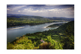 Danube River Scenic Panorma,Visegrad, Hungary Photographic Print by George Oze