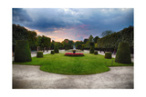 Topiari Shrubs in Schonbrunn Palace Garden Photographic Print by George Oze