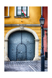 House Exterior On Castle Hill, Budapest, Hungary Photographic Print by George Oze