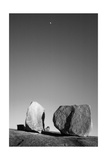 Rocks 2 Bw Photographic Print by John Gusky