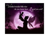 Little Blessing Twinkle Little Star Photographic Print by Julie Fain