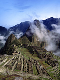 Machu Picchu Photographic Print by Charles Bowman