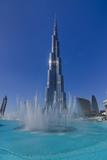 Burj Khalifa 2 Photographic Print by Charles Bowman