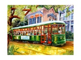 Streetcar in New Orleans Photographic Print by Diane Millsap