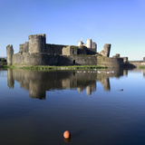 Caerphilly Castle Photographic Print by Charles Bowman