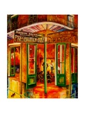 Maison Bourbon Photographic Print by Diane Millsap