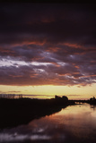 New Zealand Sunset Photographic Print by Charles Bowman