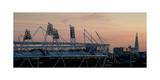 Olympic Stadium Shard Photographic Print by Charles Bowman